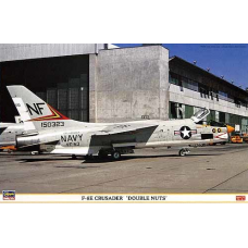 """F-8E Crusader """"double nuts"""" 1/48"""