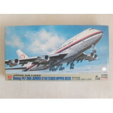 JAL Boeing 747-300 jumbo stretched upper deck 1/200