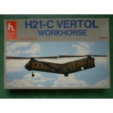 H21-C Vertol workhorse 1/72