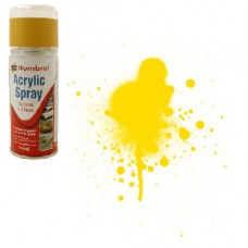 Gloss yellow Humbrol - spray - gloss