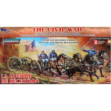 Union Army Horse Drawn Field Artillery 1/16