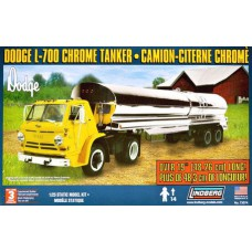 Dodge L-700 Chrome Tanker 1/25