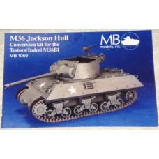M36 Jackson hull 1/72