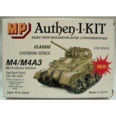 M4/M4A3 (mid-production vehicle) 1/72