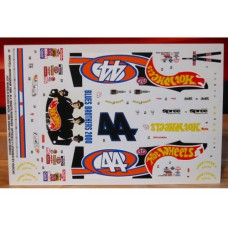 #44 Blues Brothers 2000 - Hot Wheels 1998 Pontiac - Kyle Petty Decals 1/24