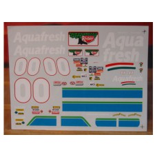 # 00 Aquafresh Buckshot Jones 1997 Grand Prix Decals 1/24