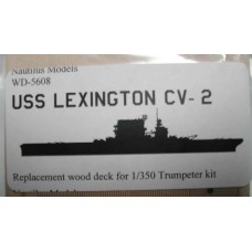 USS Lexington CV-2 1/350