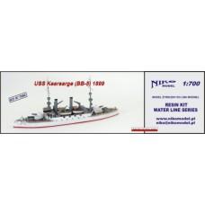 USS Kearsarge 1899 1/700