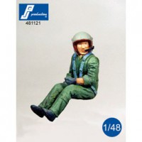French Helicopter pilot 1/48
