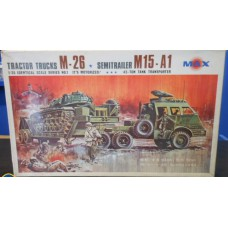 Tractor truck M-26 with semitrailer M15-A1 1/35