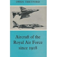 Aircraft of the Royal Air Force since 1918 Books