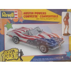 Austin Powers Corvette 1/25