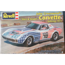 John Greenwoods Stars and stripes Corvette 1/25