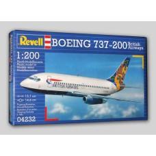 Boeing 737-200 British airwaus 1/200