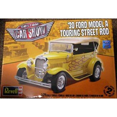30 Ford Model A Touring Street Rod 1/24