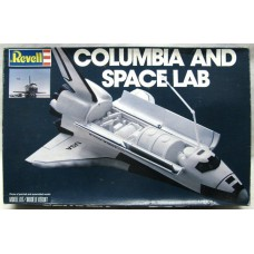 Columbia and space lab 1/144