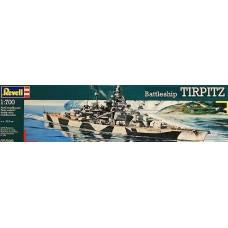 Battleship Tirpitz 1/700