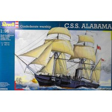 Confederate warship CSS Alabama 1/96