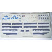 Boeing 747-400 KLM Decals 1/144