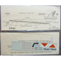 CPAir DC-10 Decals 1/144