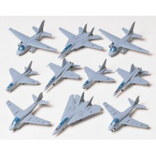 US Navy aircraft set 1/350