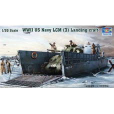 LCM 3 landing craft 1/35