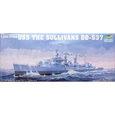 US The Sullivans DD-537 1/350