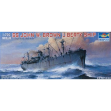 SS John W Brown Liberty ship 1/700