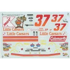 #37 K Mart/Little Caesars TBird John Andretti Decals 1/24