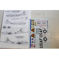 VB-29, KB-29P, WB-50D Decals 1/72