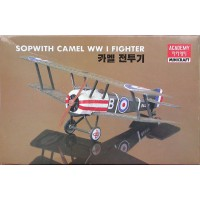 Sopwith Camel WWI Fighter 1/72