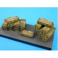 17pdr wooden ammunition boxes 1/35