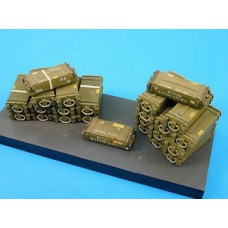 17pdr wooden ammunition boxes 1/35
