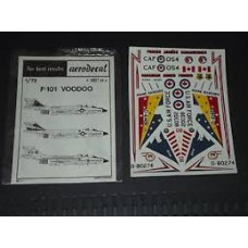 F-101 Voodoo Decals 1/72