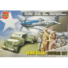 WWII USAF Airfield set 1/72