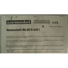 Messerschmitt Me262B conversie 1/72