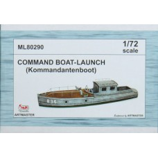 Command Boat Launch 1/72