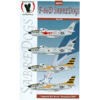 F-86D Sabredogs Decals 1/48