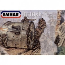 British WWI Artillery 1/35