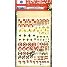National insignia Decals 1/72