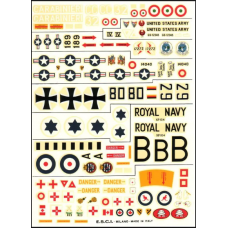 Sikorsky S-58 & Bell UH-1 Iroquois Decals 1/72