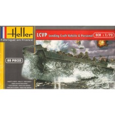 LCVP Landing Craft 1/72