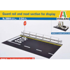 Guard rail and road section 1/24