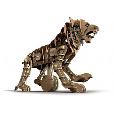 Mechanical Lion figurines