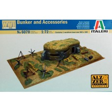 Bunker and accessories 1/72