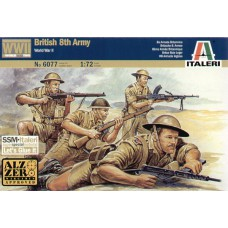 British 8th Army WWII 1/72