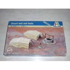 Desert well and tents 1/72