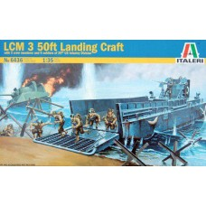 LCM 3 50ft landing craft 1/35