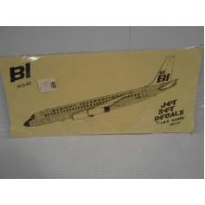 DC8-62 Braniff International Decals 1/144