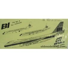 707/DC8-62 Braniff International Decals 1/144